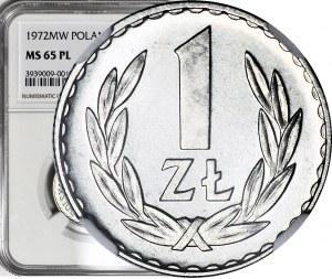 RR-, 1 złoty 1972 PROOFLIKE