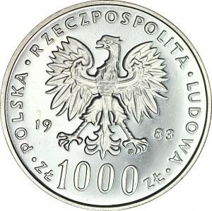 1000 złotych 1983, Jan Paweł II, LUSTRZANE