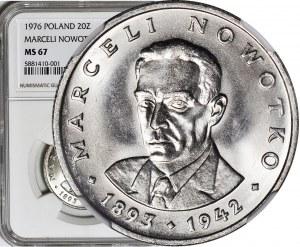 20 złotych 1976, Nowotko, bez znaku, menniczy