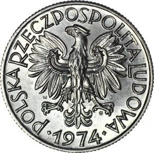 5 złotych 1974 Rybak, słoneczko