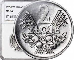 2 złote 1973, Jagody, mennicze