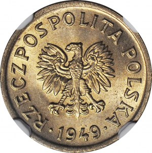 10 groszy 1949, MN (miedzionikiel), menniczy