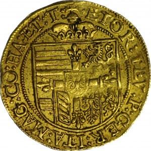 Austria, arcyksiążę Maksymilian jako Wielki Mistrz Zakonu 1612-1618, dukat, Hall
