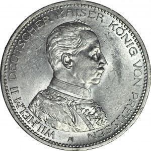 Niemcy, Prusy, Wilhelm II, 5 marek 1913 A, mennicze