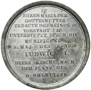 Niemcy, Bawaria, Ludwik I, Medal 1839, Monachium