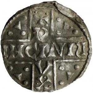 Niemcy, Bawaria, Ratyzbona, Henryk V Mozelski, Denar 1018-1026