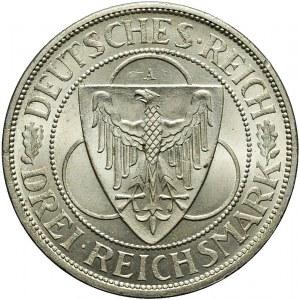 Niemcy, Republika Weimarska, 3 marki 1930, Berlin, mennicze