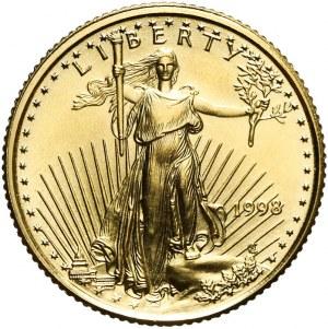 Stany Zjednoczone Ameryki (USA), 5 dolarów 1998, złoto