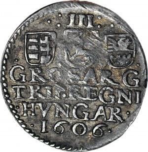 Węgry, Siedmiogród, Stefan Bocskai, Trojak 1606, Nagybanya