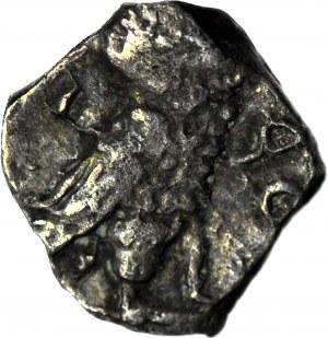 Grecja, Attyka - Ateny, Obol ok. 454-404 pne, Głowa Ateny/Sowa, rzadkie