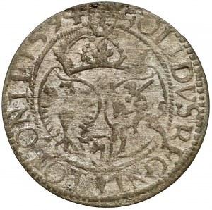 Zygmunt III Waza, Szeląg Olkusz 1594 - Topór - rzadki