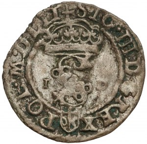 Zygmunt III Waza, Szeląg Olkusz 1590 ID - Dulski
