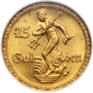 Gdańsk 25 guldenów 1930