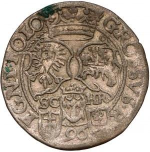 Zygmunt III Waza, Grosz Bydgoszcz 1596 - ilustrowany - rzadki