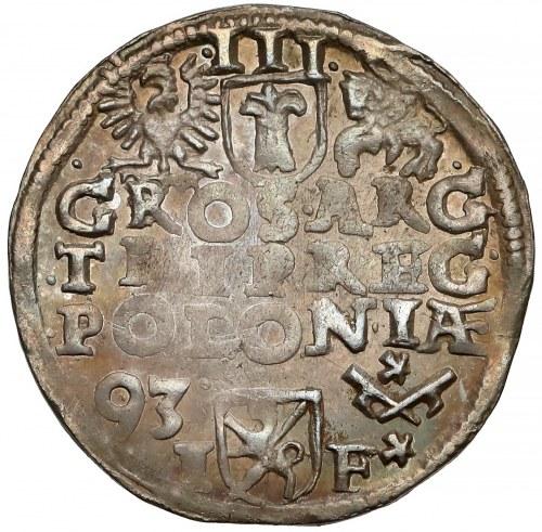 Zygmunt III Waza, Trojak Poznań 1593