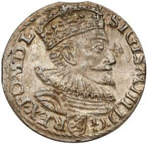 Zygmunt III Waza, Trojak Malbork 1594 - otwarty
