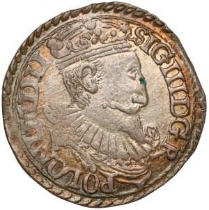 Zygmunt III Waza, Trojak Olkusz 1597 - piękny