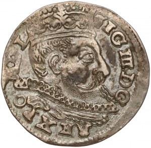 Zygmunt III Waza, Trojak Lublin 1598 - L w dacie