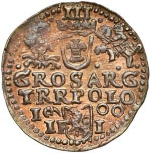 Zygmunt III Waza, Trojak Olkusz 1600 - piękny