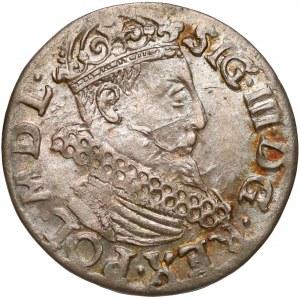 Zygmunt III Waza, Trojak Kraków 1618 - piękny