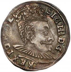 Zygmunt III Waza, Trojak Wilno 1596 - Koste - rzadki