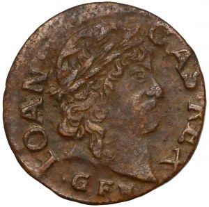 Jan II Kazimierz, Boratynka litewska 1663 GFH, Oliwa