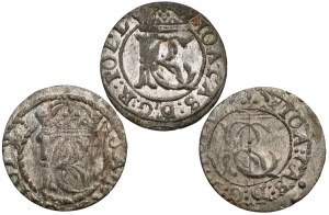 Jan II Kazimierz, Szelągi Wilno 1652? (3szt)