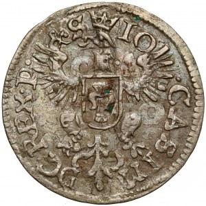 Jan II Kazimierz, Dwugrosz Wschowa 1652 - b.rzadki