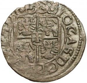 Jan II Kazimierz, Półtorak Poznań 1662 - obwódka na Aw.