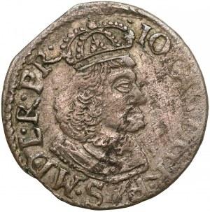 Jan II Kazimierz, Dwugrosz Elbląg 1651 WvE - rzadki