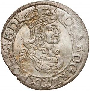 Jan II Kazimierz, Trojak Bydgoszcz 1662 AT - duże pop. - piękny