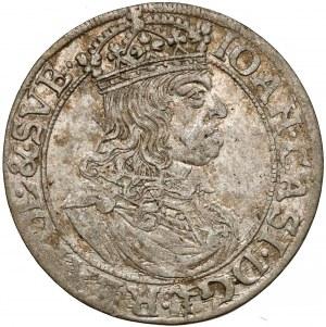 Jan II Kazimierz, Szóstak Kraków 1660 - TLB pod Snopkiem