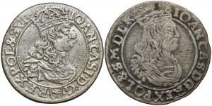 Jan II Kazimierz, Szóstaki 1661-1663 (2szt)