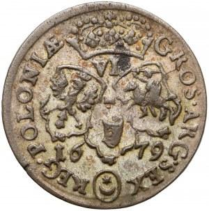 Jan III Sobieski, Szóstak Bydgoszcz 1679 TLB - z orderem