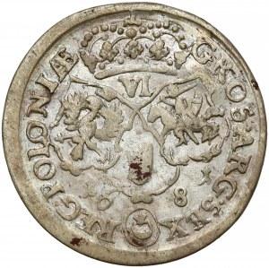 Jan III Sobieski, Szóstak Bydgoszcz 1681 - data szeroko