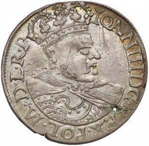Jan III Sobieski, Szóstak Kraków 1682 - mała głowa w koronie - piękny