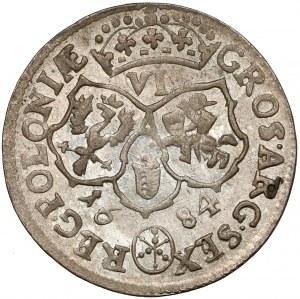 Jan III Sobieski, Szóstak Bydgoszcz 1684 - inicjały TLB