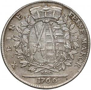 Germany, Sachsen, Taler 1766 EDC, Dresden