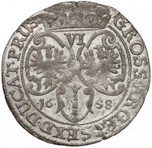 Niemcy, Prusy-Brandenburgia, Fryderyk Wilhelm, Szóstak Królewiec 1658