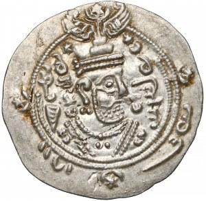 Sasanidzi, Tabaristan, Farkhan, AR Hemidrachma 711-743