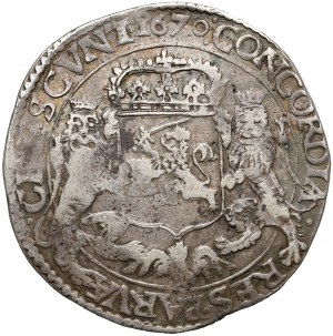 Netherlands, West Friesland, 1 ducaton of silver rider 1670