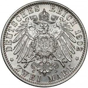 Germany, Baden, 2 mark 1902