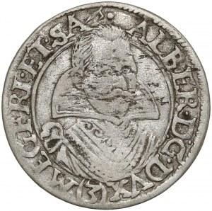 Śląsk, Albert von Wallenstein, 3 krajcary Żagań 1630