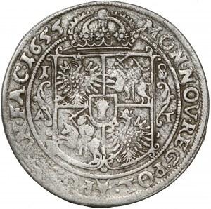 Jan II Kazimierz, Ort Poznań 1655 AT - rzadszy