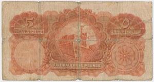 Palestyna, 5 Pounds 1929