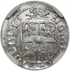 Zygmunt III Waza, Grosz (półtorak) Ryga 1616 - menniczy
