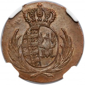Księstwo Warszawskie, Grosz 1814 IB - PIĘKNY