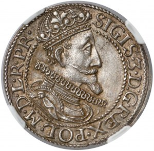 Zygmunt III Waza, Ort Gdańsk 1612 - ilustrowany - piękny