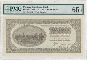 1 mln mkp 1923 - T - numeracja 6-cyfrowa