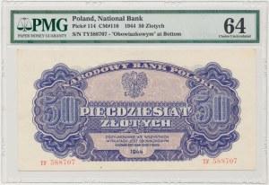 50 złotych 1944 ...owym - TY
